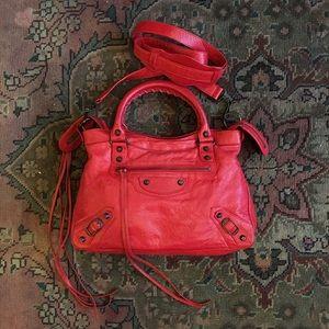 Balenciaga Classic Coquelicot Town Bag